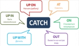 Phrasal verb Catch