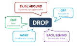 Phrasal verb Drop