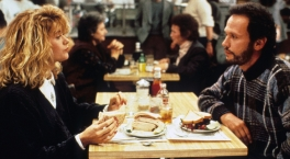When Harry Met Sally. Harry and Sally at a diner. Еxplosively funny.