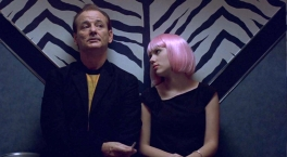 Lost in Translation - Bill Murray and Scarlett Johansson at the bar.
