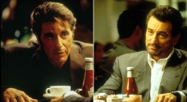 HEAT - Pacino and De Niro at the restaurant
