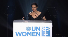 Meghan Markle about her first fight for women's rights