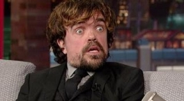 David Letterman - Peter Dinklage Hasn't Read Game Of Thrones