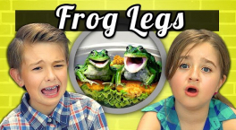 KIDS vs. FOOD 9 - FROG LEGS
